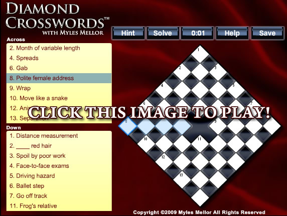 Diamond Crosswords™